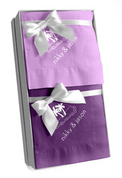 Design Your Own Hostess Napkin Gift Set in Choice of Colors