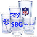 NFL Logo Personalized Tumblers