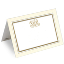 Gold Bordered Printed Placecards
