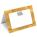 Gold Leaf Printed Placecards