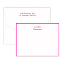 Epitome Flat Note Cards on Triple Thick Stock