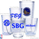 Golden State Warriors Personalized Tumblers