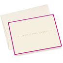 One Line Foldover Note Cards