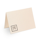 Remington Monogram Note Cards