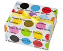 Multi Mega Dot Personalized Gift Wrap
