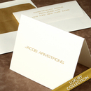 Luxury Armstrong Foldover Note Card Collection on Triple Thick Stock