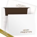 Luxury Preston Foldover Note Card Collection on Triple Thick Stock