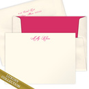 Luxury Milly Flat Note Card Collection on Triple Thick Stock