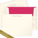 Luxury Valentine Flat Note Card Collection<br> on Triple Thick Stock