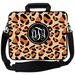 Leopard Polka Dot Laptop Bag