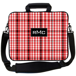 Red Plaid Laptop Bag