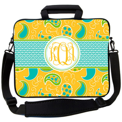 Spring Paisley Laptop Bag