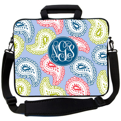 Paisley Blue Laptop Bag