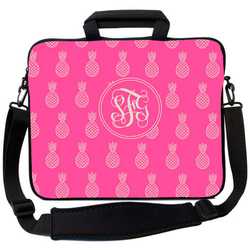 Pink Pineapple Laptop Bag