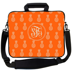 Orange Pineapple Laptop Bag