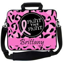 Breast Cancer Fight the Fight Laptop Bag