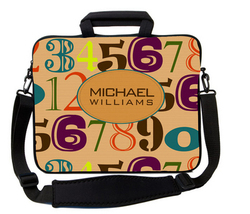 Numbers Laptop Bag
