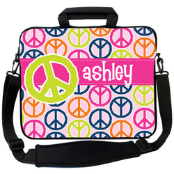 Colorful Peace Laptop Bag