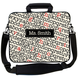 Alphabet Soup Laptop Bag