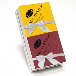 Wine and Harvest Gold Napkin Team Spirit Gift Set