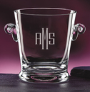 Deep Etched Monogrammed Ice Bucket