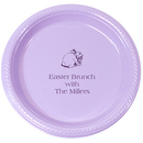 Personalized Easter Plastic Plates