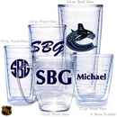 Design Your Own NHL Personalized Tumblers