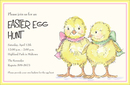 Easter Chics Invitations
