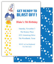Blast Off Invitations