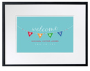 Baby Bunting Personalized Print