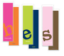 Letter Perfect<br> Solid Bookmarks in<br> Your Color Choice