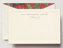 Catalina Ecru Correspondence Cards with Bevel Panel