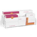 Raspberry & Apricot Polka Dot Post-it® Notes Ensemble