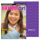 Birthday Girl Magazine Cover Invitations
