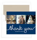 Navy Union Thank You Note Cards