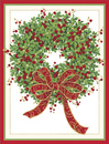 Boxwood Wreath Holiday Cards