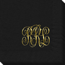 Interlocking Script Monogram Napkins