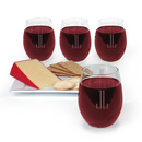 Maestro 15 oz. Stemless Glassware Set of 4