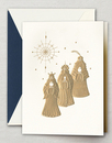 Engraved Three Kings Holiday Cards