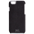 Black Leather iPhone 6/6s Hard Case
