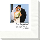 Design Your Own Full Color Wedding Photo Napkins