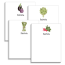 Garden Vegetable Notepad Collection
