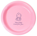 Personalized Sweet Baby Plastic Plates