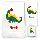 Boy's 3-Piece<br> Dinosaur Towel Set