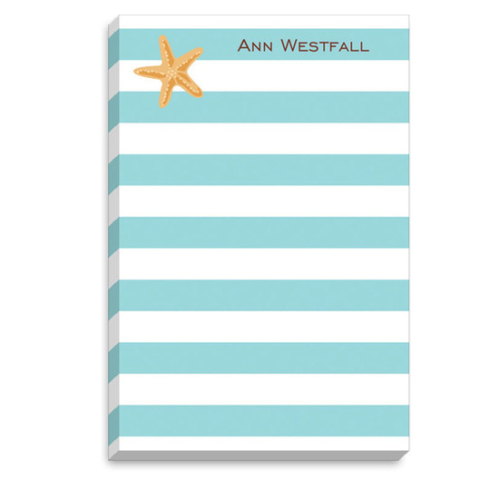 Starfish Notepad Set