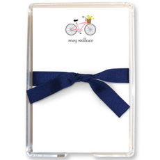 Bicycle Memo Sheets in Holder