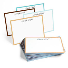 The Fifth Avenue Border Flat Note Cards Collection