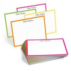 The Malibu Border Flat Note Cards Collection
