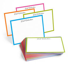 The Martinique Border Note Cards Collection