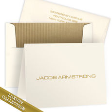 Luxury Armstrong Folded Note Card Collection